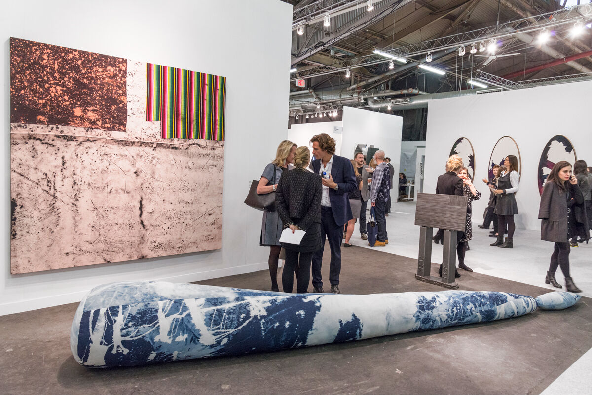 Installation view of Sprüth Magers's booth at The Armory Show, 2017. Photo by Adam Reich for Artsy.