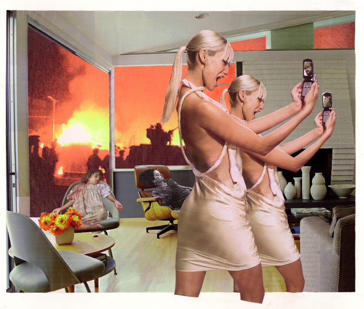 Martha Rosler, Photo Op, 2004. © Martha Rosler. Courtesy of the artist, Nagel Draxler Berlin / Cologne, Mitchell Innes & Nash / New York.