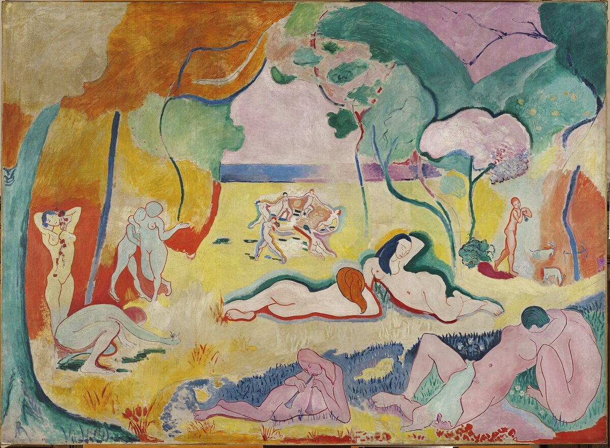 Henri Matisse, Le Bonheur de vivre, 1905-06. © 2018 Succession H. Matisse / Artists Rights Society (ARS), New York. Courtesy of Simon & Schuster.