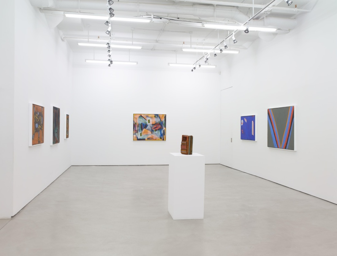 "Installation view of ""Betty Parsons: Invisible Presence."" Courtesy of Alexander Gray Associates. © Betty Parsons Foundation."