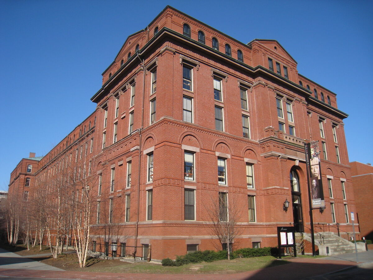 The Peabody Museum of Archaeology and Ethnology at Harvard University. Photo by Daderot, via Wikimedia Commons.