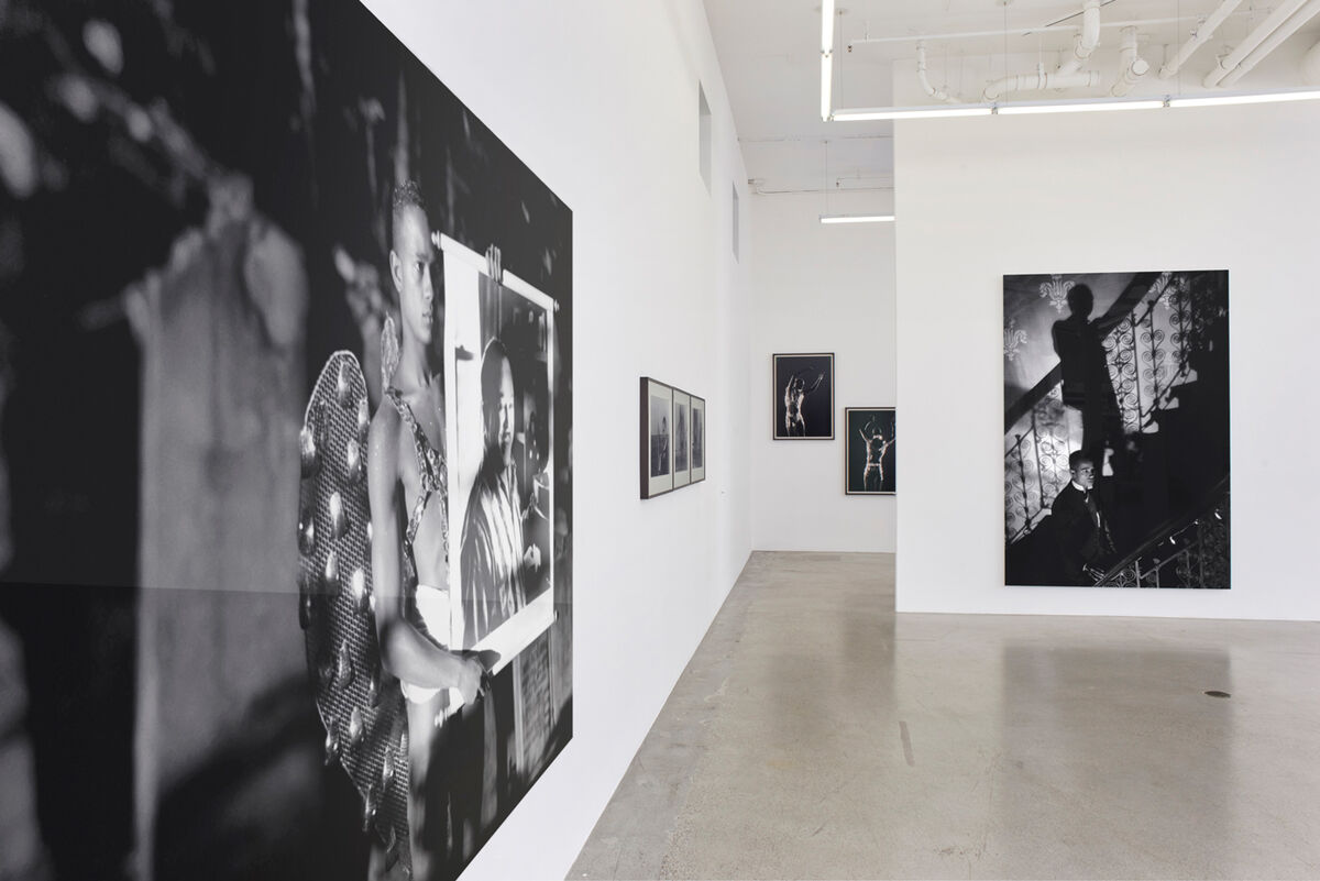 "Installation view of ""Vintage,"" an exhibition of photographs by Isaac Julien,  at Jessica Silverman Gallery, 2016. Courtesy of the gallery."