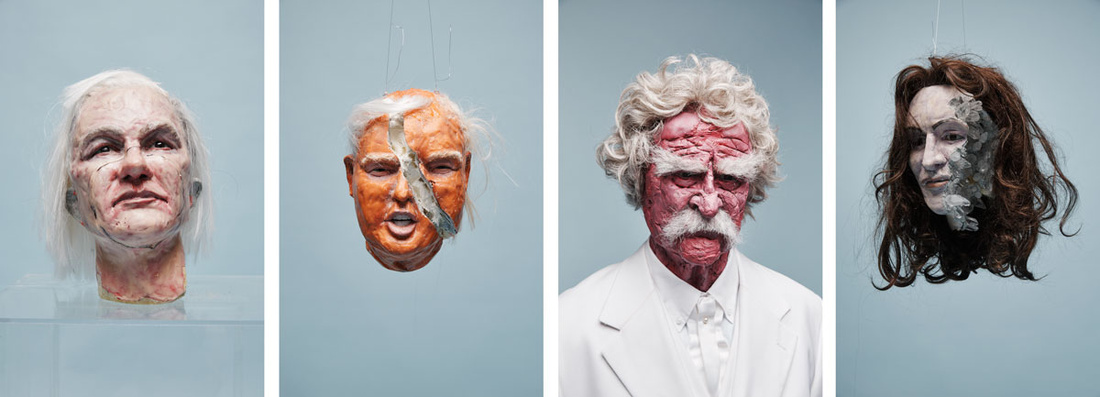 Sculptures from David Altmejd's set for the album cover. Photo courtesy ofWeAreFree.