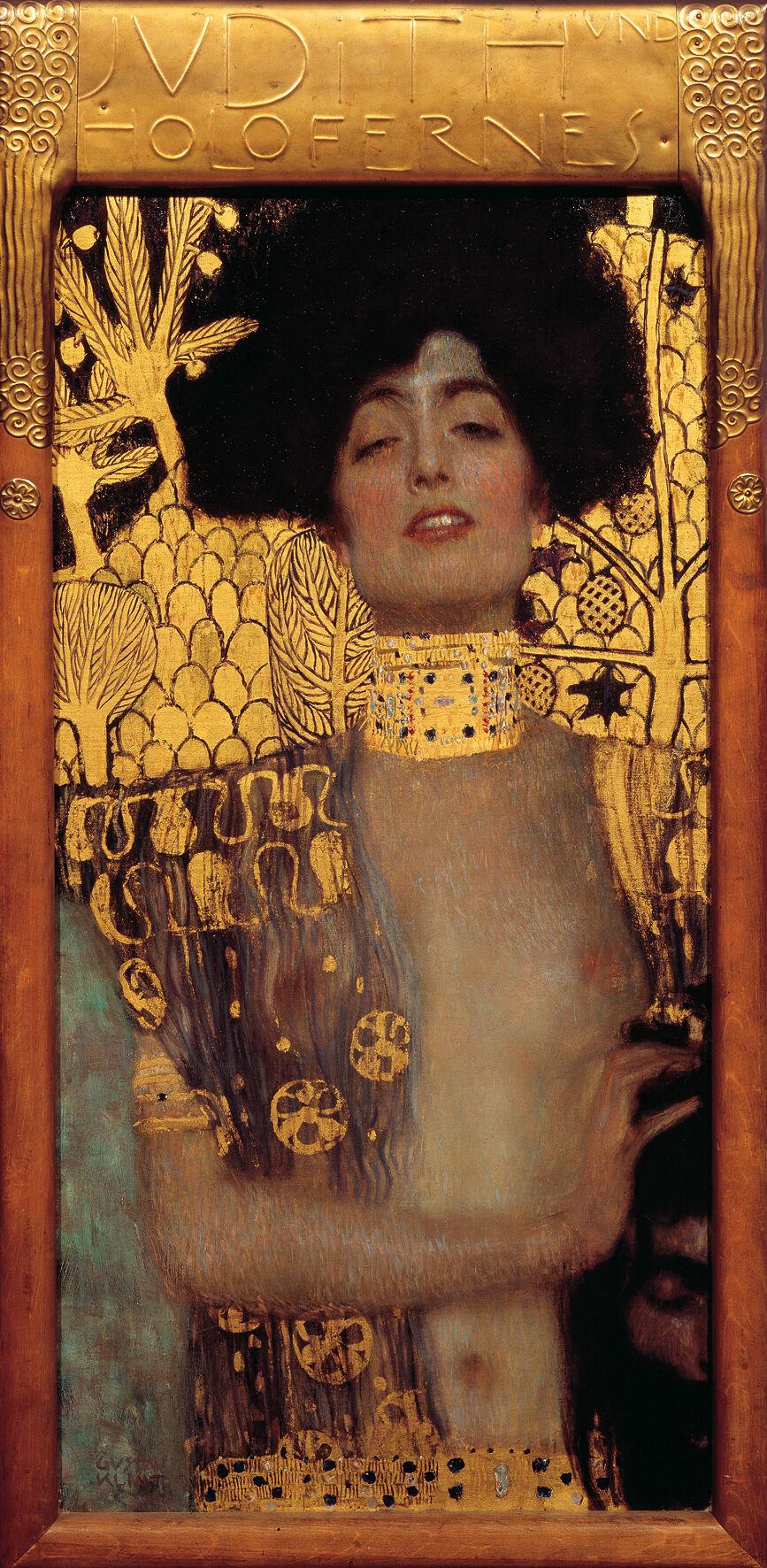 Gustav Klimt, Judith I, 1901. Image via Wikimedia Commons.