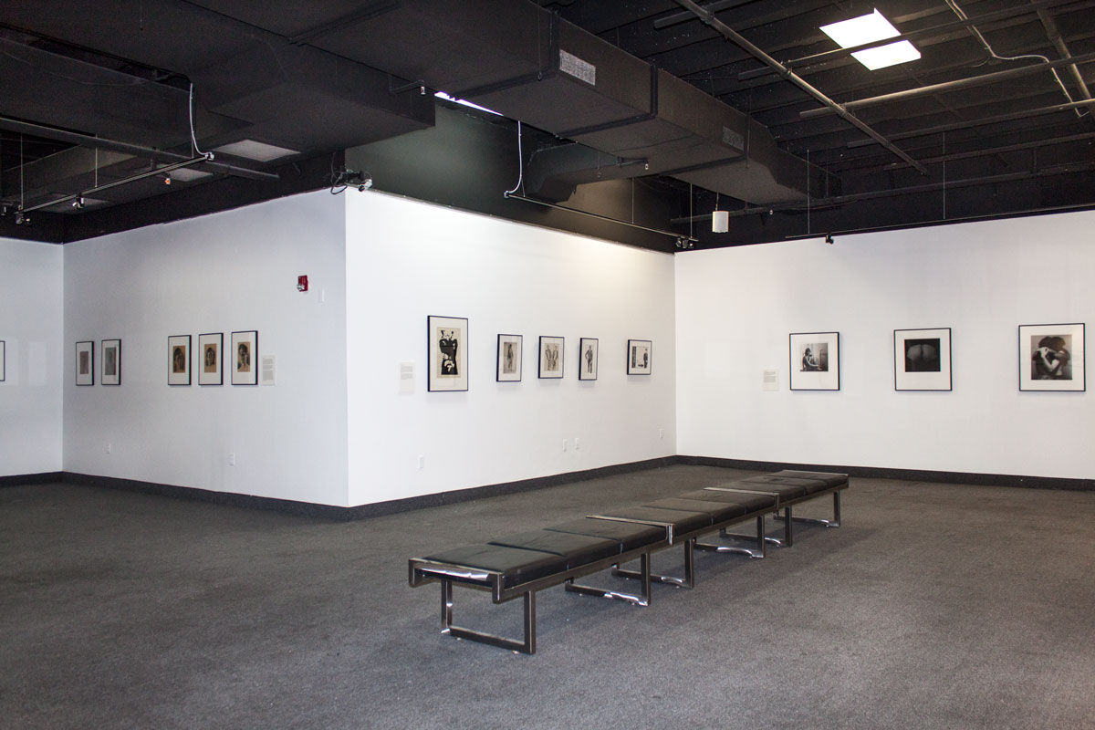 "Installation view of ""Protected Beauty"", courtesy of The Kinsey Institute for Research in Sex, Gender, and Reproduction."