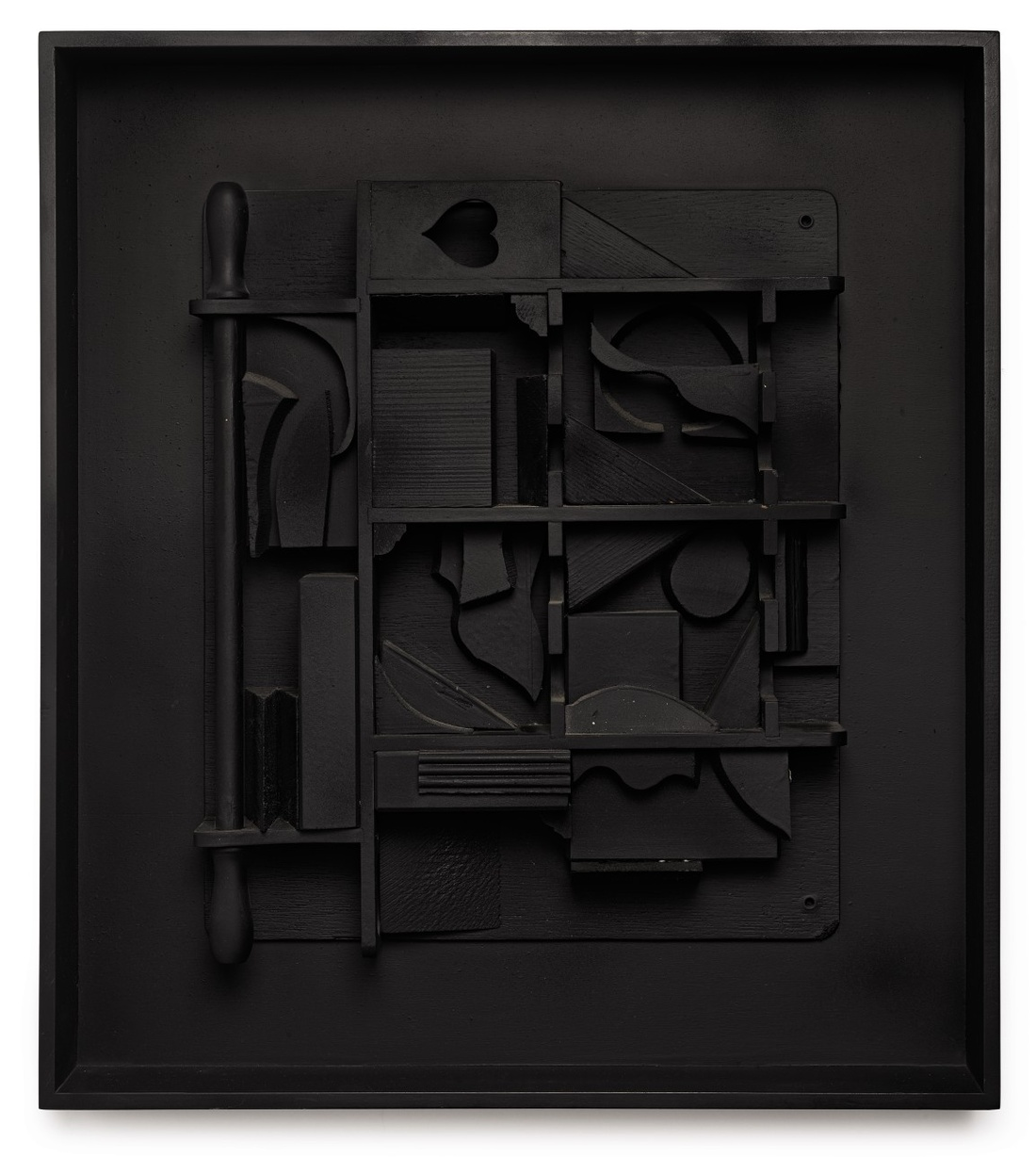 Louise Nevelson, Moon Star I,1979. Estimate $30,000–40,000.