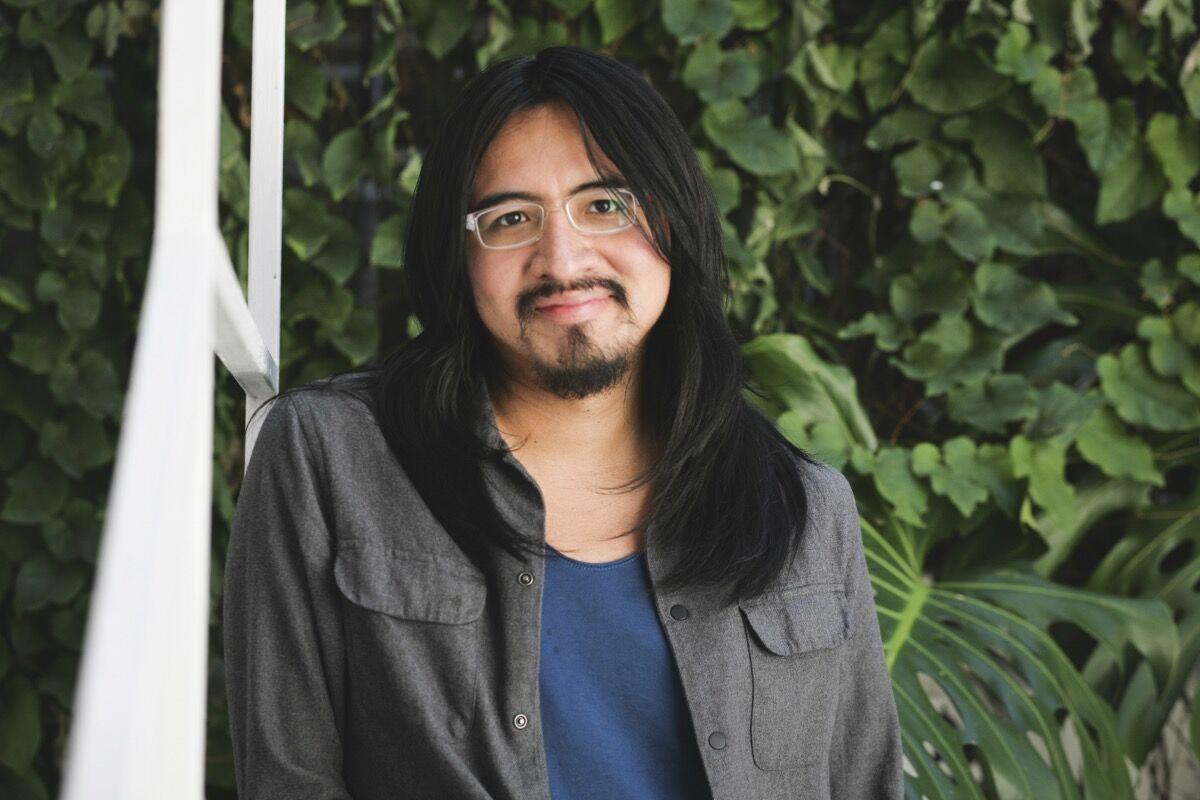 Portrait of Miguel A López. Photo by Daniela Morales L. Courtesy of Miguel A López.