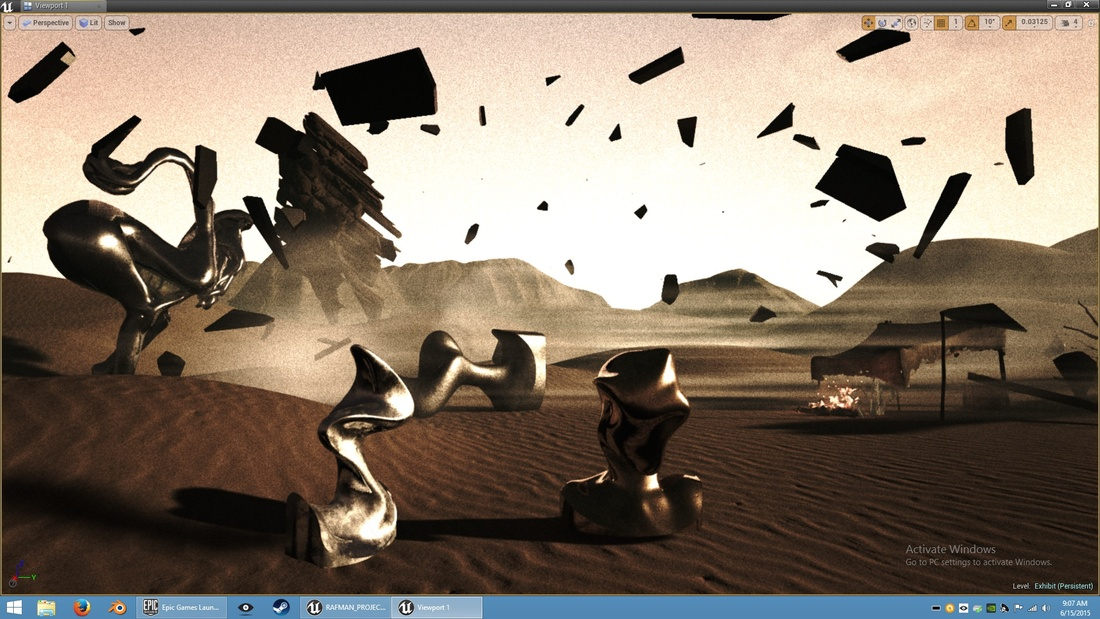 Still of a VR work by Jon Rafman. Image courtesy of the artist.