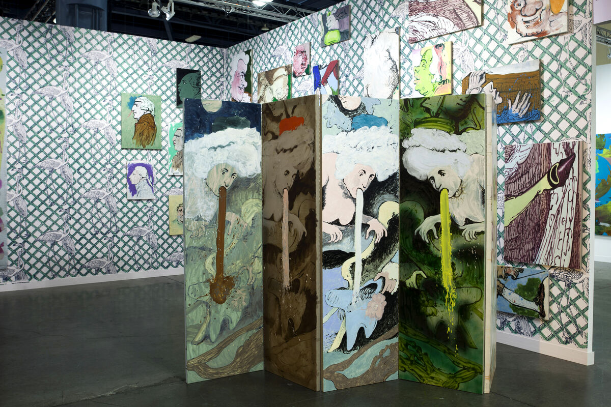Installation view of Supportico Lopez's booth at Art Basel in Miami Beach, 2015.Photo byOriol Tarridas for Artsy.
