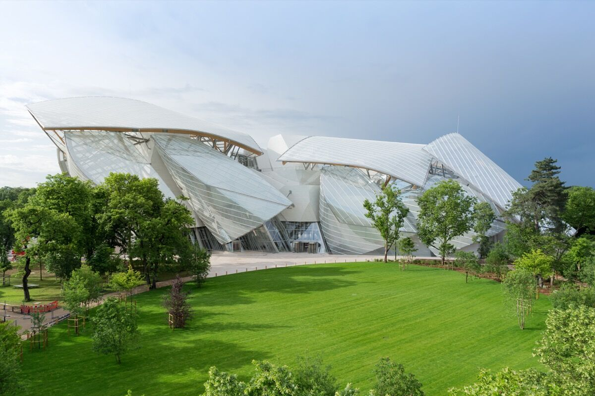 Foundation Louis Vuitton. © Iwan Baan / Fondation Louis Vuitton