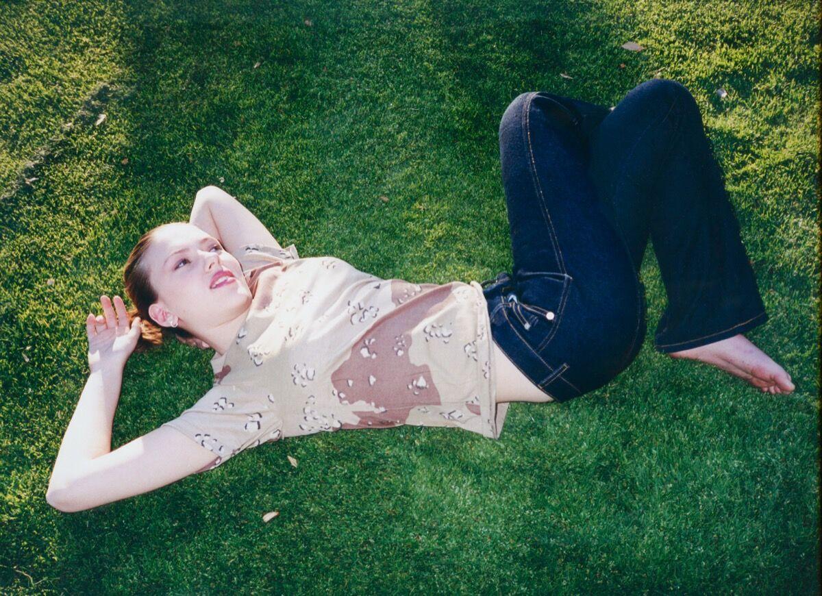 Leeta Harding, Scarlett Johansson for Index, 2001. Courtesy of the artist.