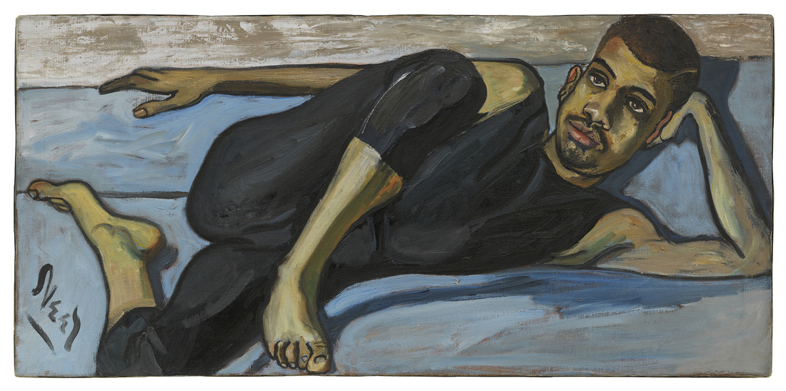 Alice Neel, Ballet Dancer, 1950. Hall Collection. © The Estate of Alice Neel. Courtesy David Zwirner, New York/London and Victoria Miro, London.