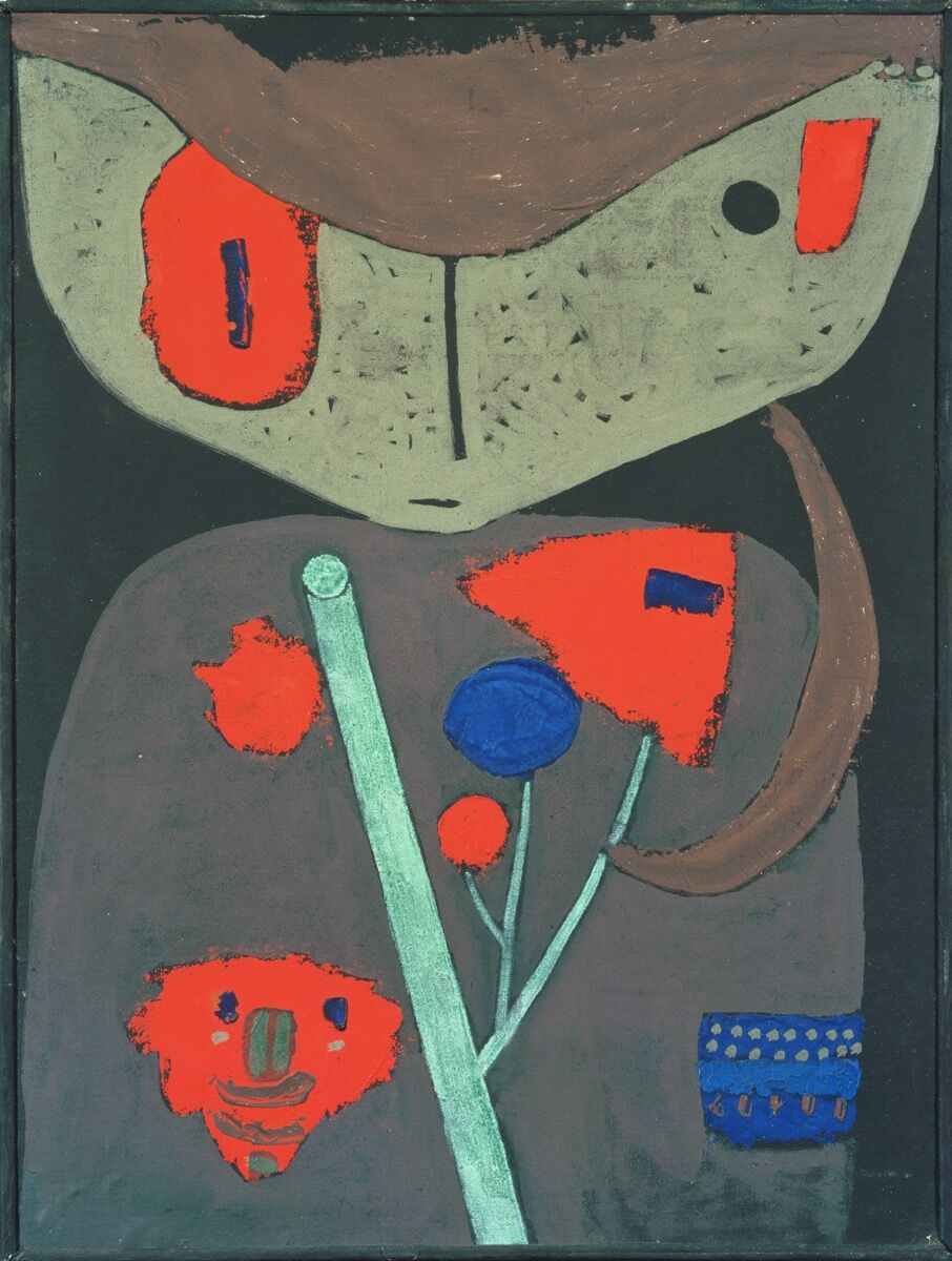 Paul Klee, Figure of the Oriental Theater, 1934. The Phillips Collection, Washington, DC. Courtesy of the Phillips Collection.