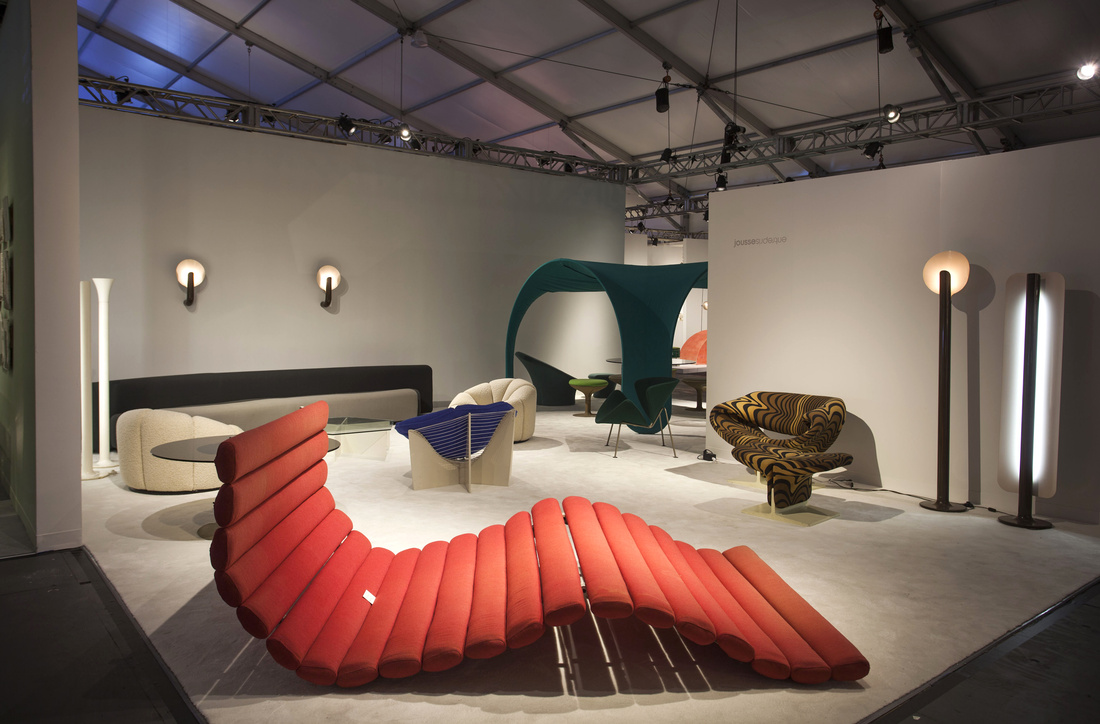 Jousse Enterprise's booth at Design Miami/ 2015. Photo by Oriol Tarridas for Artsy.