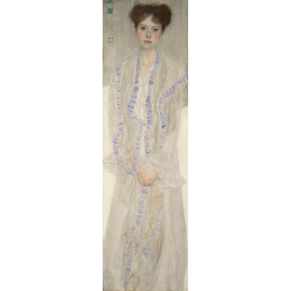 Gustav Klimt, Portrait of Gertrud Loew (1902). Courtesy Sotheby's London.
