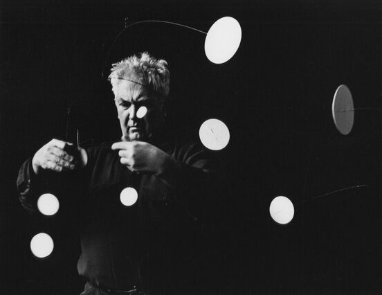 Gordon Parks, Alexander Calder, Roxbury, Connecticut, 1952, Jenkins Johnson Gallery. Courtesy of the Gordon Parks Foundation. © The Gordon Parks Foundation.