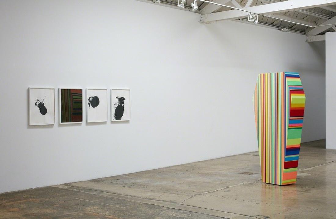 "Installation view of ""A Cold War."" Image courtesy Klowden Mann."