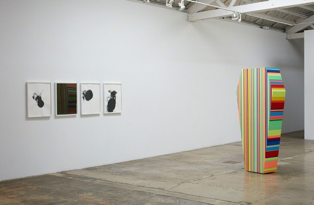 "Installation view of ""A Cold War."" Image courtesy Klowden Mann."