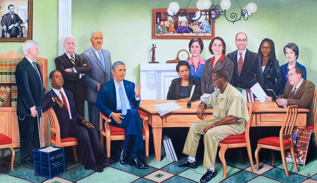 Fulton Leroy Washington, Emancipation Proclamation, 2014. Courtesy of the artist.