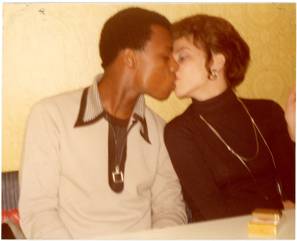 Snapshot, ca. 1975. Photographer unknown. Courtesy of the Collection of Barbara Levine / Project B.