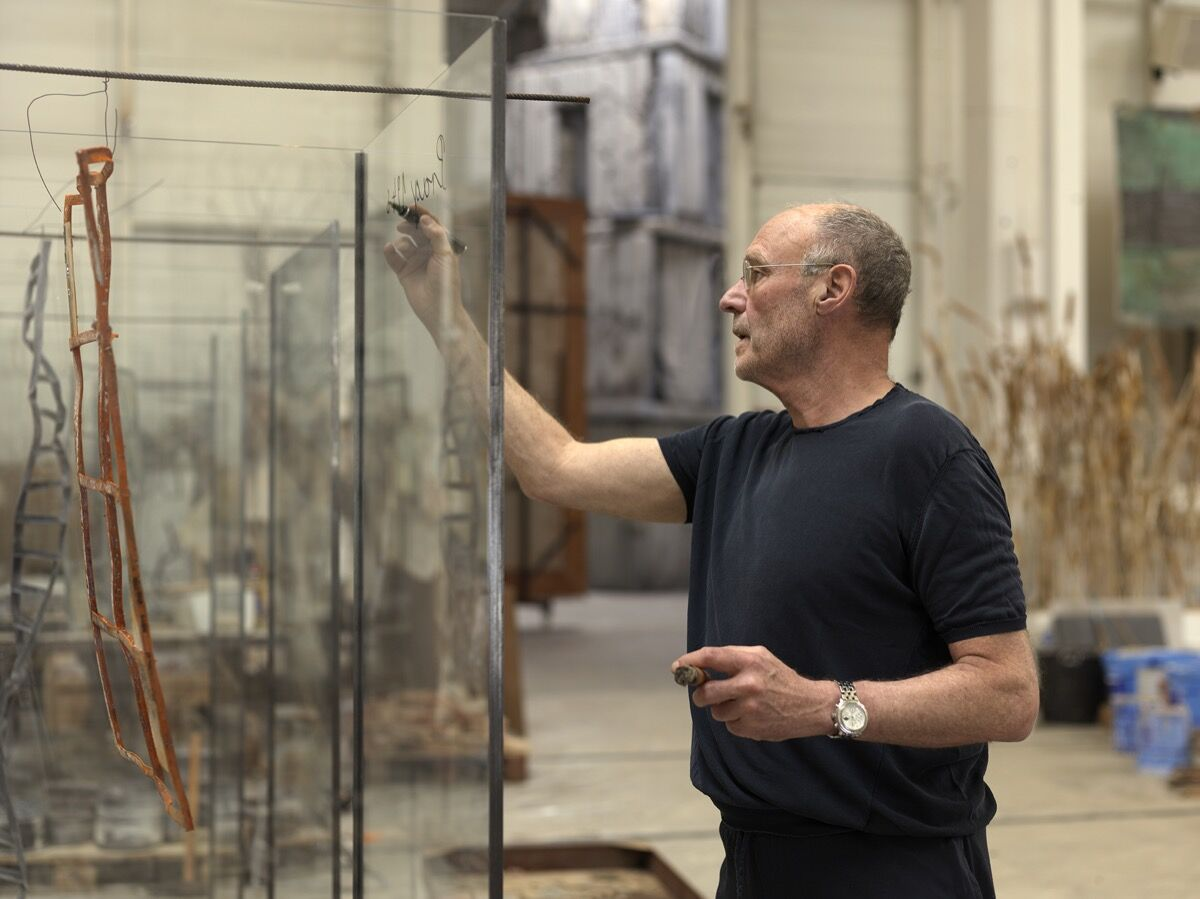 Portrait of Anselm Kiefer. © Georges Poncet. Courtesy of the Barnes Foundation.