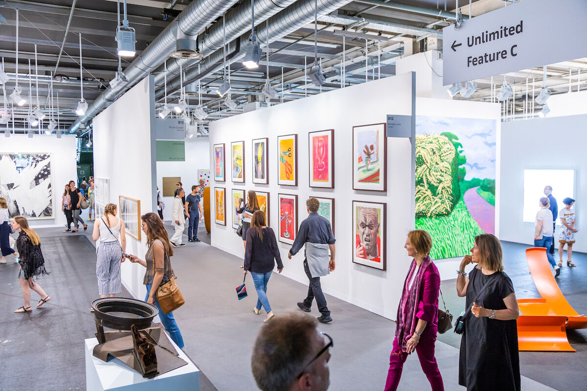 The 2018 edition of Art Basel in Basel, Switzerland. Photo courtesy and © Art Basel.