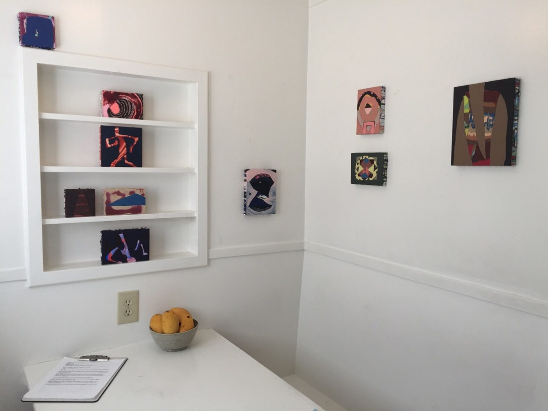 Sydney Cohen's work on view at Nook gallery. Photo by Sarah Burke.