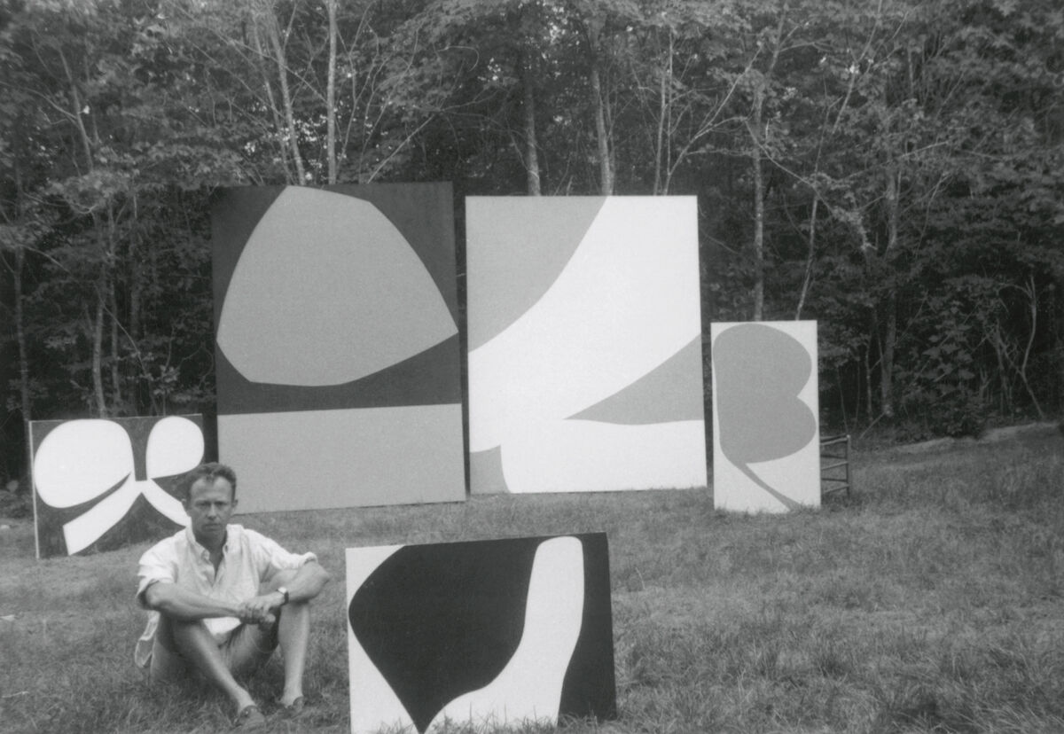 Ellsworth Kelly in East Hampton, Summer 1960. Courtesy of Matthew Marks Gallery.