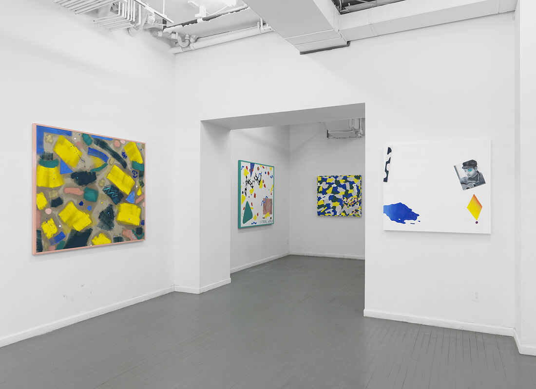 "Installation view of ""Modern Love"" at Louis B. James Gallery, New York. Courtesy of Louis B. James Gallery, New York."