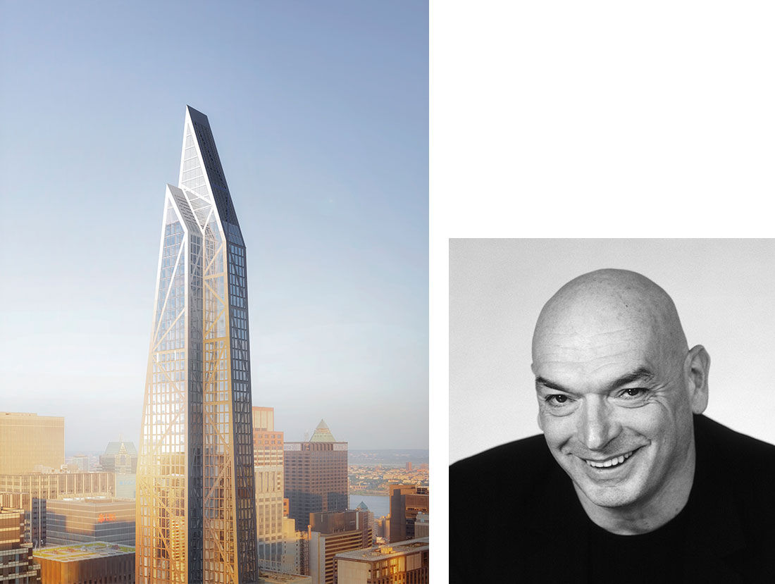 Ateliers Jean Nouvel, 53W53. Portrait of Jean Nouvel. Courtesy of 53W53. Photo by Gaston Bergeret. Courtesy of Ateliers Jean Nouvel.