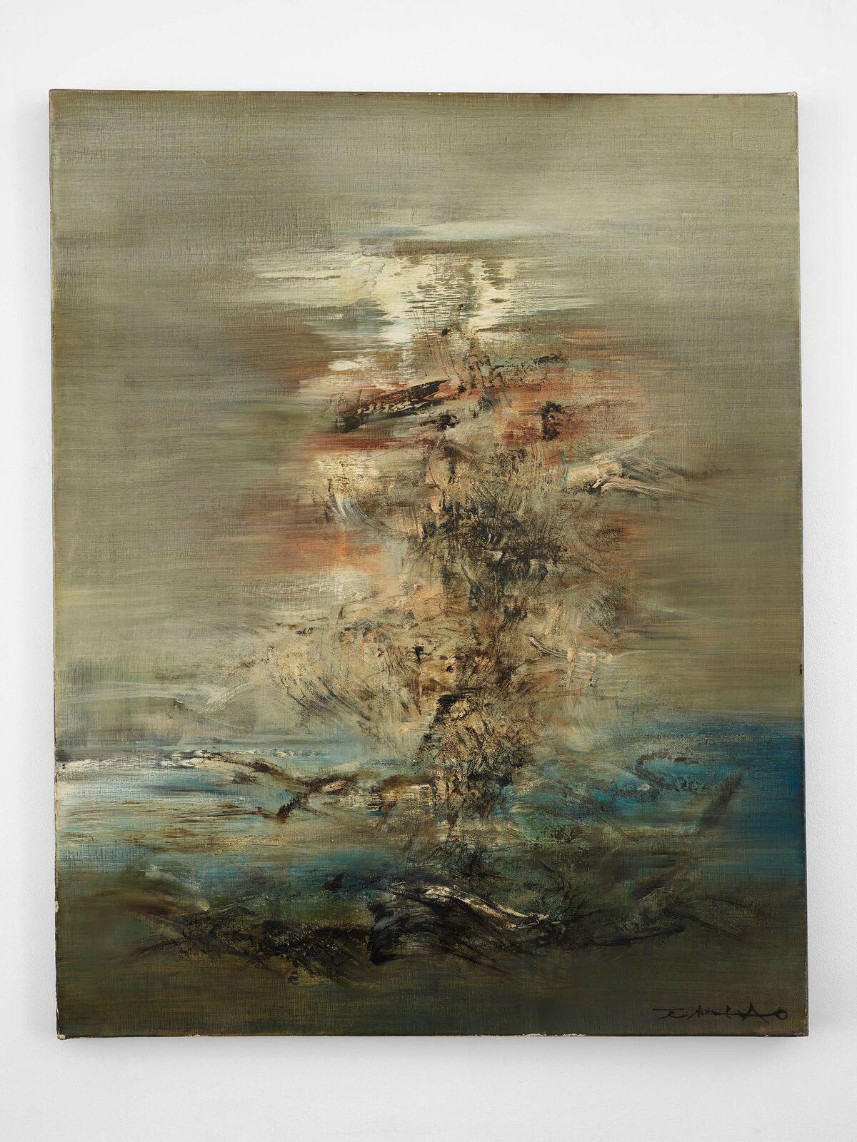 Zao Wou-Ki, 04-06-62, 1962. Courtesy of Lévy Gorvy.