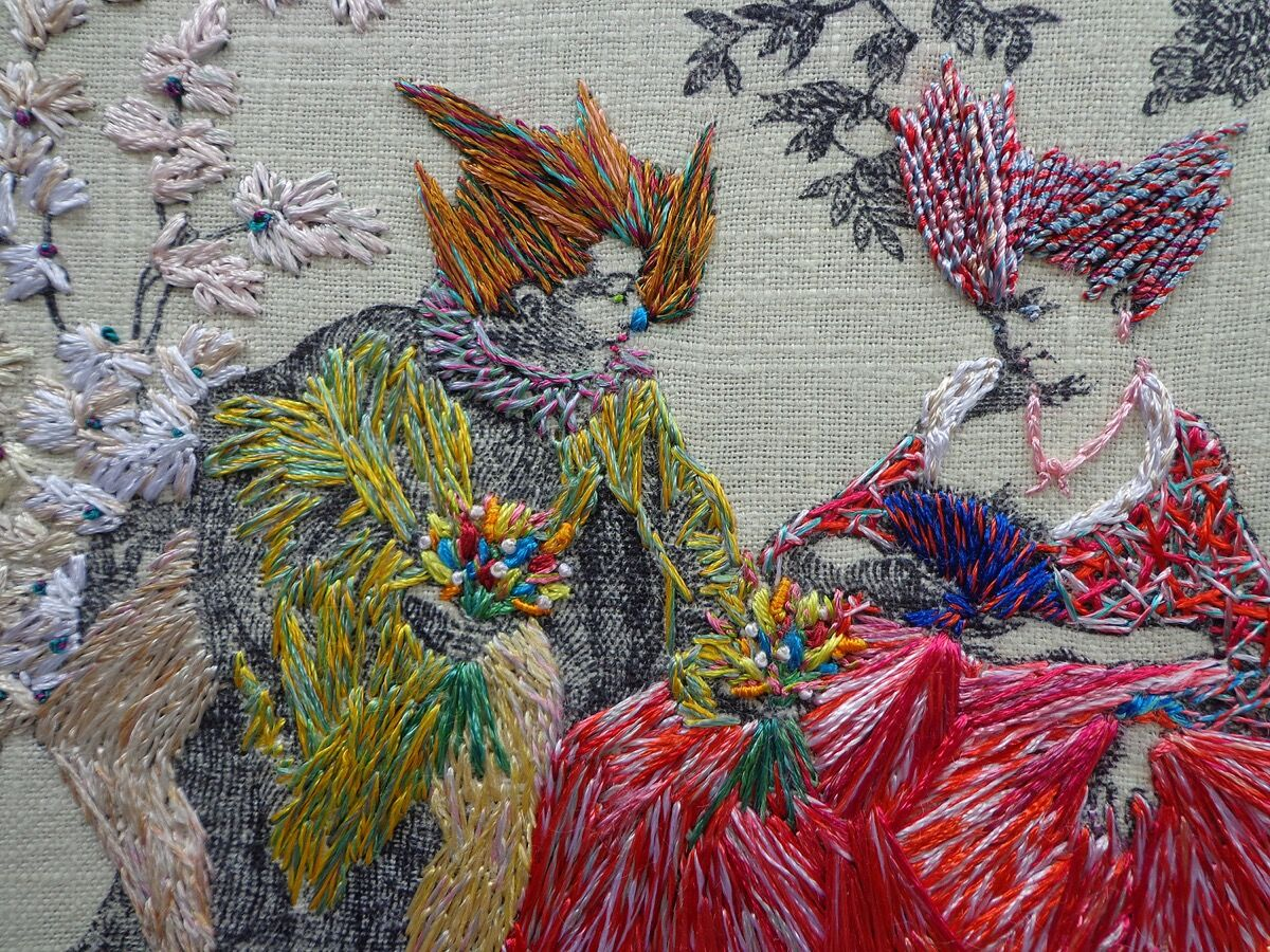 11 Artists Using Embroidery In Radical Ways Artsy