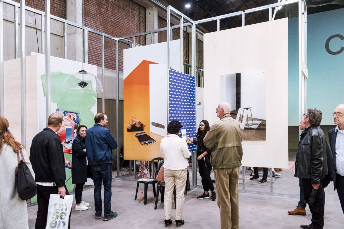 Installation view of GUSH's booth at Unseen Amsterdam, 2017. © GUSH 2017.