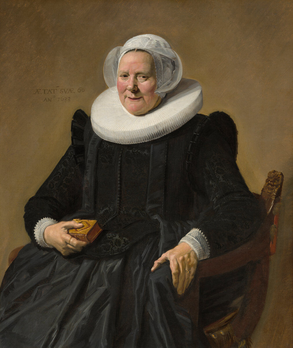 Frans Hals, Portrait of an Elderly Lady, 1633. Courtesy of the National Gallery of Art.