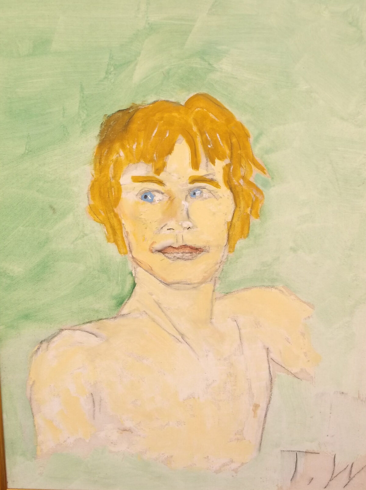 Tennessee Williams, Michael York, 1970s. On loan from David Wolkowsky. Courtesy of The Jewish Museum of Florida-FIU.