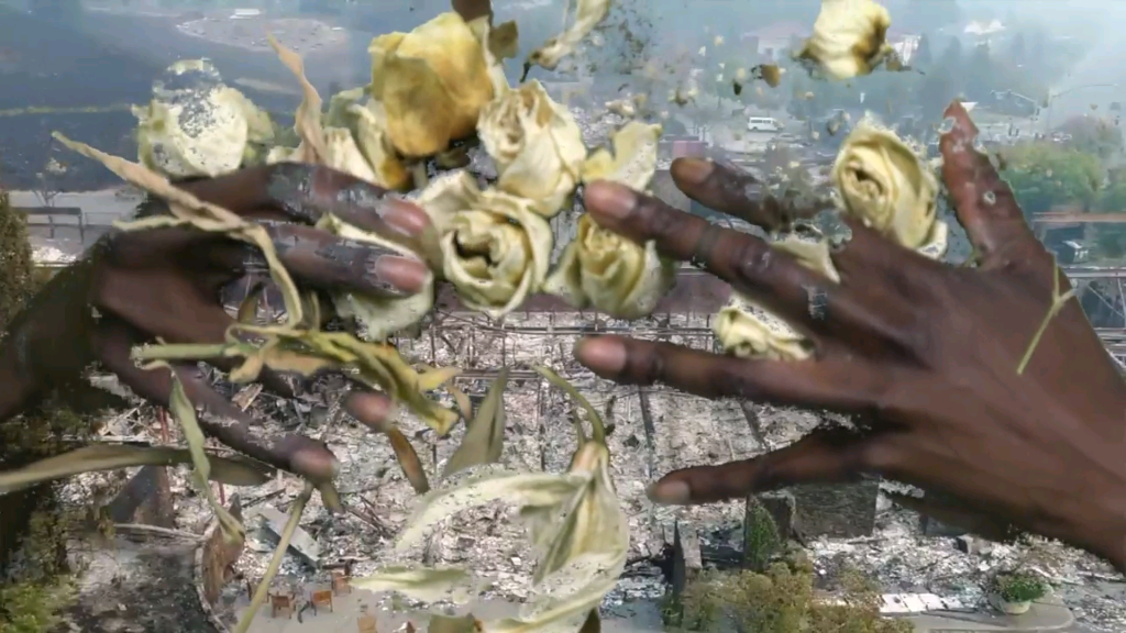 Kandis Williams, Eurydice, 2018. EXPO VIDEO, Curated by Anna Gritz (Curator, KW Institute for Contemporary Art, Berlin). Image courtesy of Night Gallery (Los Angeles) and EXPO CHICAGO.