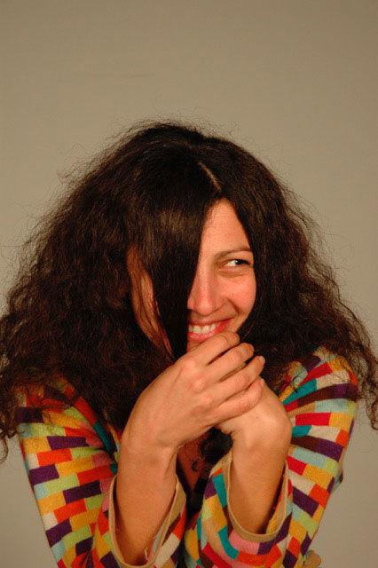 Portrait of Paola Pivi by © Luce Balzarini. Courtesy of the artist.