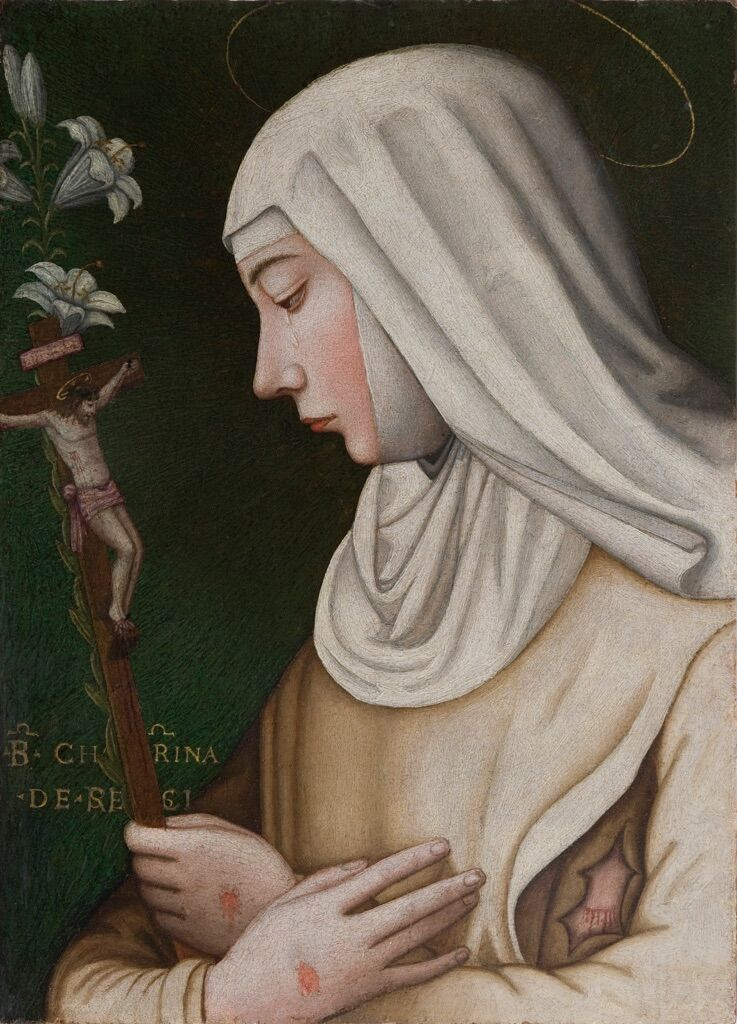 Suor Plautilla Nelli, Saint Catherine with Lily. Courtesy of the Advancing Women Artists Foundation.