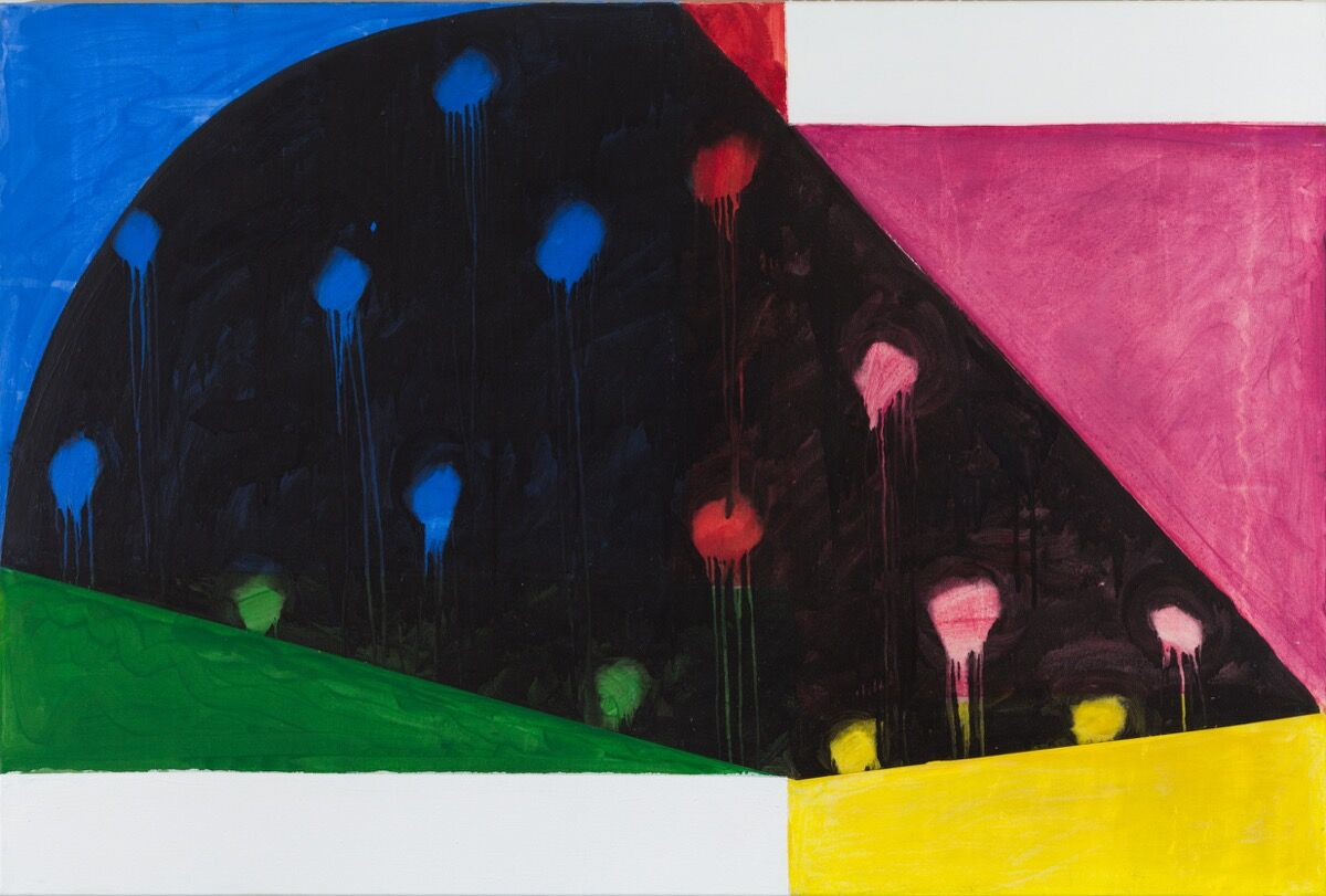 Mary Heilmann, Rio Nido, 1987. © Mary Heilmann. Photo by Thomas Müller. Courtesy of the artist, 303 Gallery, and Hauser & Wirth.