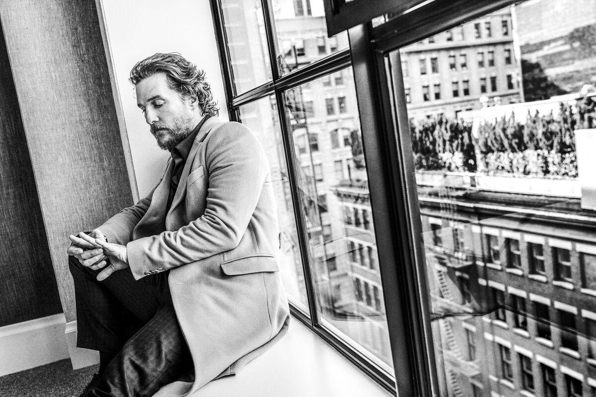Benedict Evans,  Matthew McConaughey.  Courtesy of the artist.