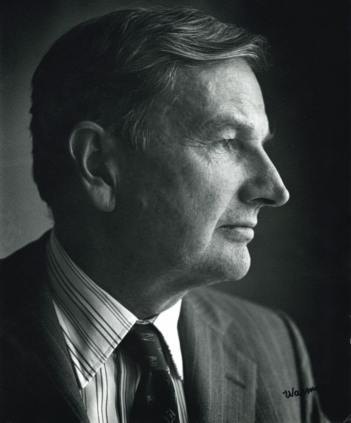 Portrait of David Rockefeller. © Rockefeller Archive Center. Courtesy of Christie's.
