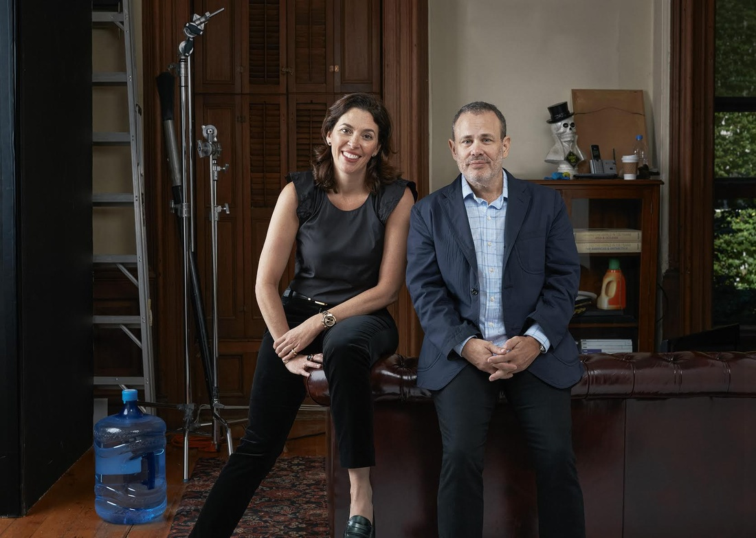 Portrait of Amy Cappellazzo and Allan Schwartzman of Art Agency, Partners, courtesy of Art Agency, Partners. Photo by Roe Etheridge.