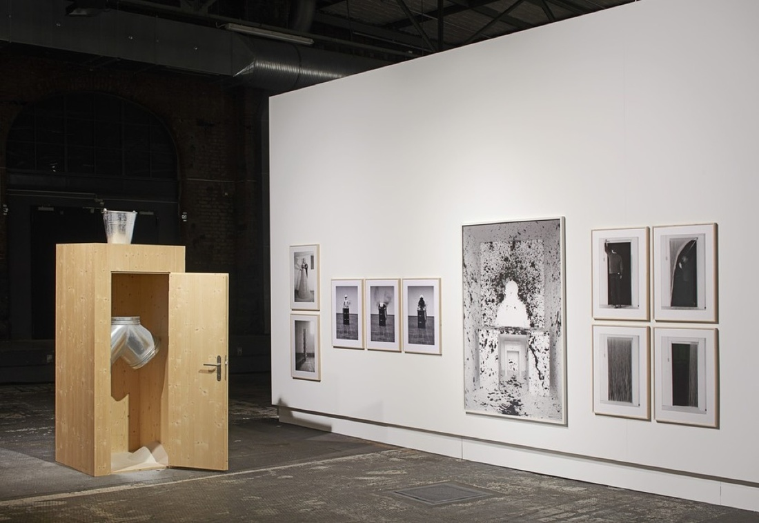 Installation view ofHäusler Contemporary's booth at Art Berlin Contemporary, 2016. Photo courtesy ofHäusler Contemporary.