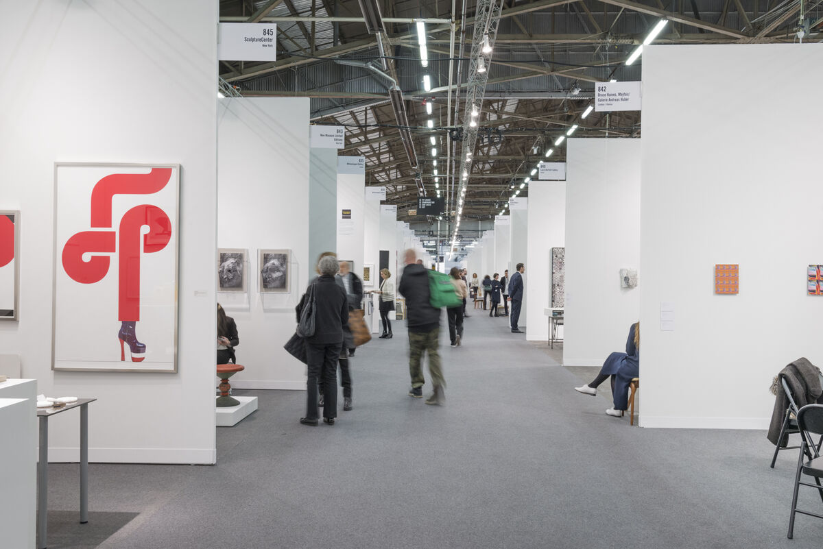Installation view of The Armory Show, 2016. Photo by Adam Reich for Artsy.