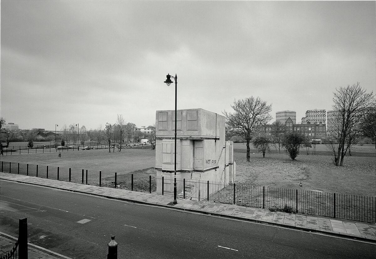 House, Rachel Whiteread, 1992. An Artangel commission. Photo by John Davies.