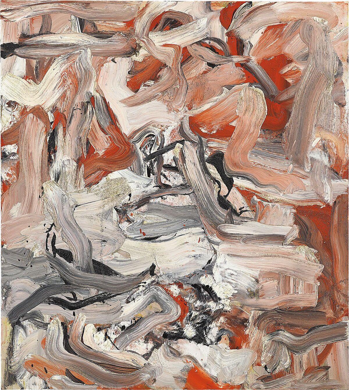 Willem de Kooning, Untitled XVI, 1976. Courtesy of Philips.