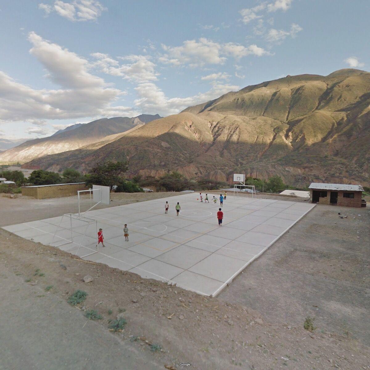 Cajamarca, Peru. Photograph by Jacqui Kenny via Google Street View.
