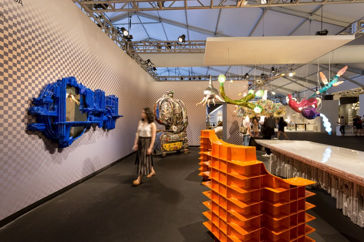 Installation view of Friedman Benda's booth at Design Miami/, 2016. Photo by Alain Almiñana for Artsy.
