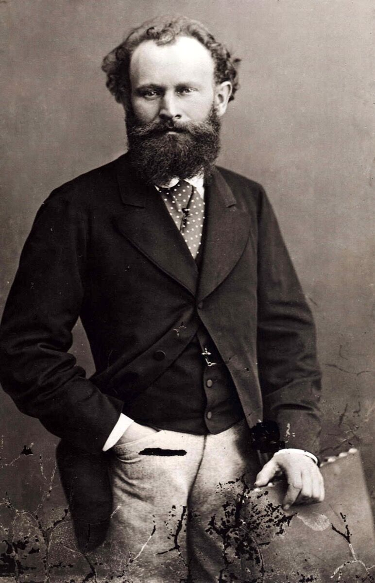 Nadar, Portrait of Édouard Manet, ca. 1867-70. Photo via Wikimedia Comm