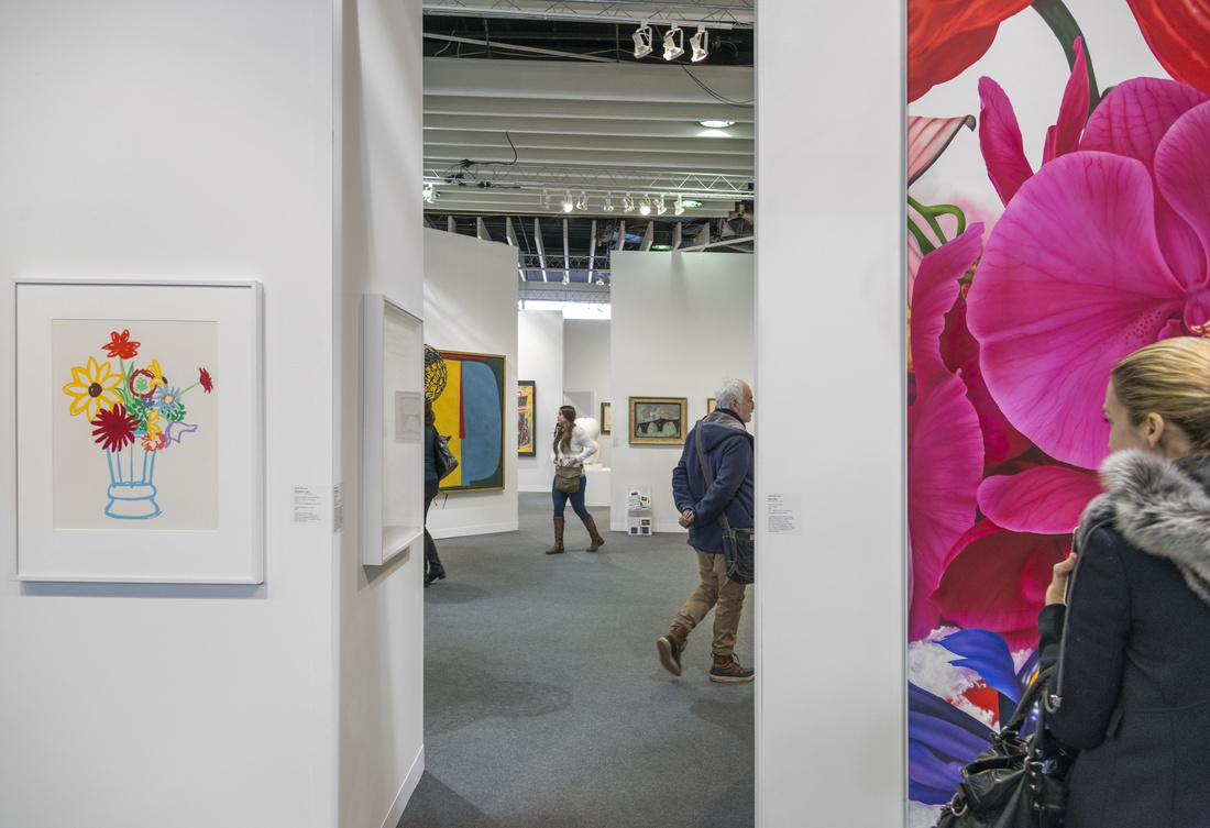 Pier 92 at The Armory Show, 2016. Photo by Adam Reich for Artsy.